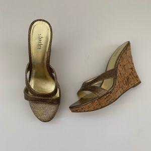 Charles David Wedge Sandals